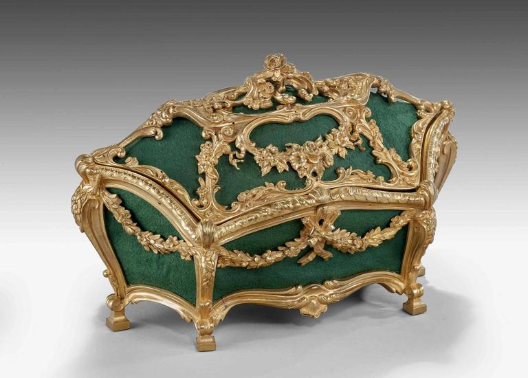 Bronze Mid-19th Century Casket For Sale