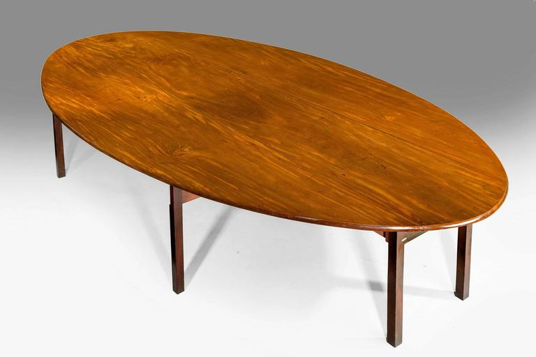 English George III Period Hunt Table For Sale