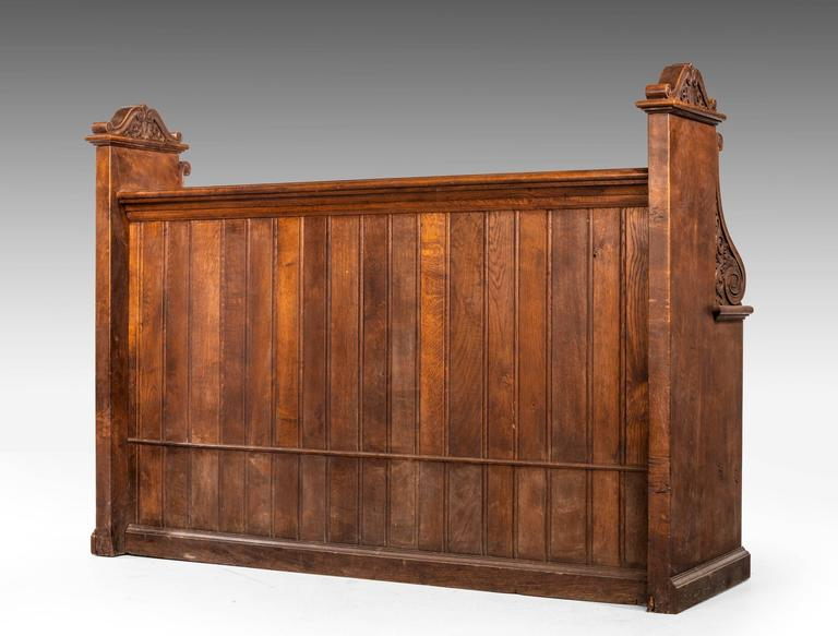 Late 19th Century Gothic Oak Pews 6