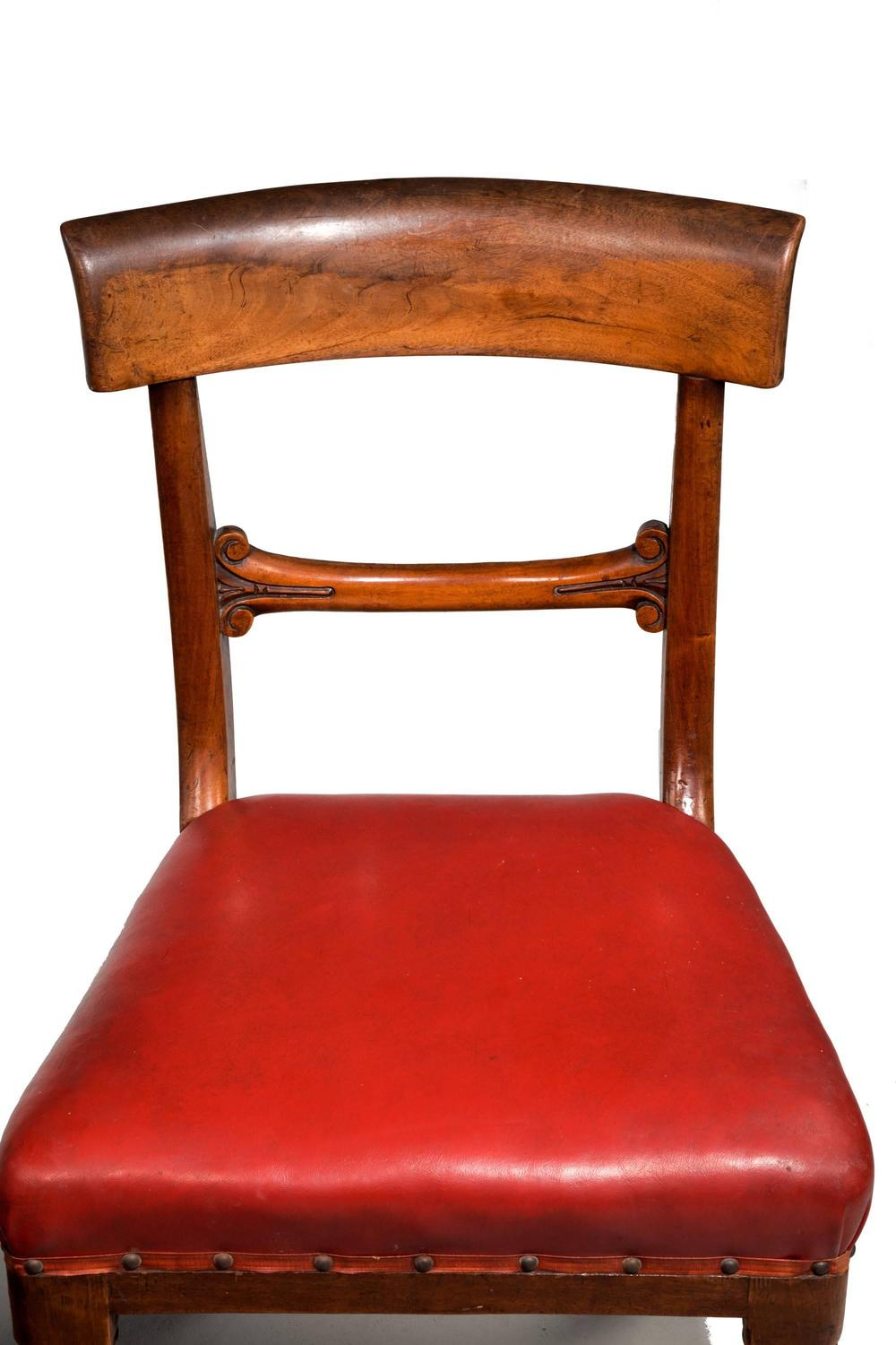 Set of Seven Early Victorian Mahogany Dining Chairs For  : 734207z from www.1stdibs.com size 1000 x 1500 jpeg 89kB