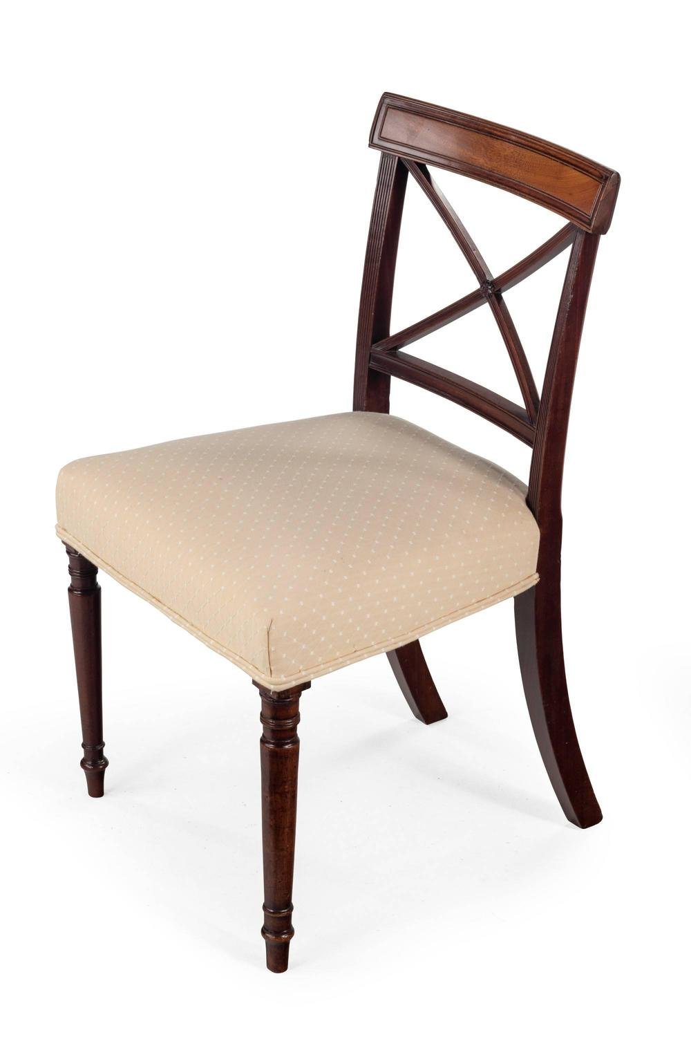 Set of Four George III Period Mahogany Dining Chairs For  : 731806z from www.1stdibs.com size 1000 x 1500 jpeg 62kB