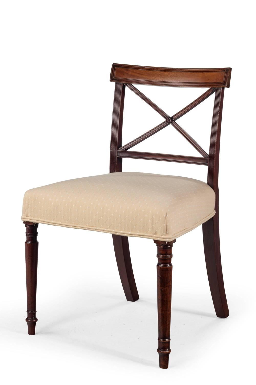 Set of Four George III Period Mahogany Dining Chairs For  : 731808z from www.1stdibs.com size 1000 x 1500 jpeg 65kB