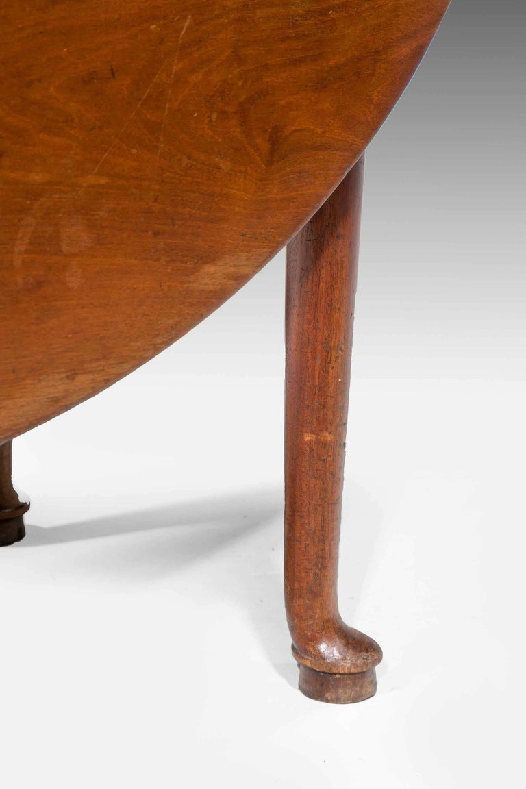 Early George III Period Mahogany Dining Table For Sale 1