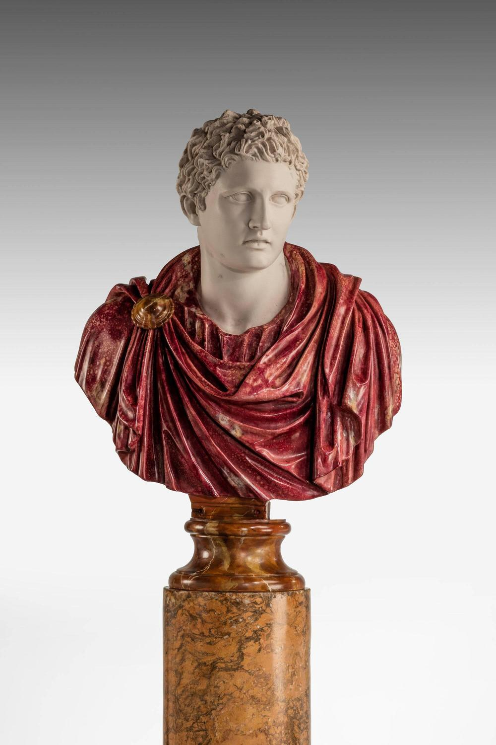Bust Of A Roman Politician Marcus Antonius For Sale At 1stdibs
