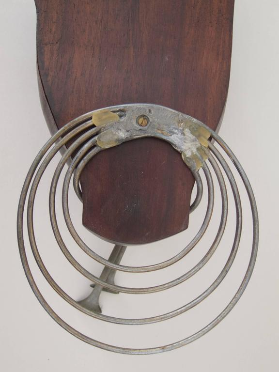 Metal Wall Sculpture by Franz Hagenauer For Sale