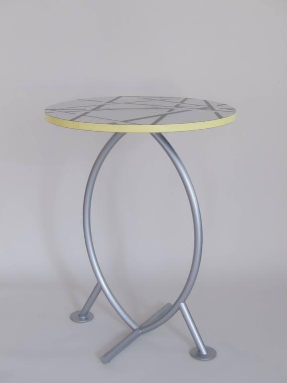 "Memphis Group Occasional Table ""Cairo"" by Michele De Lucchi For Sale"