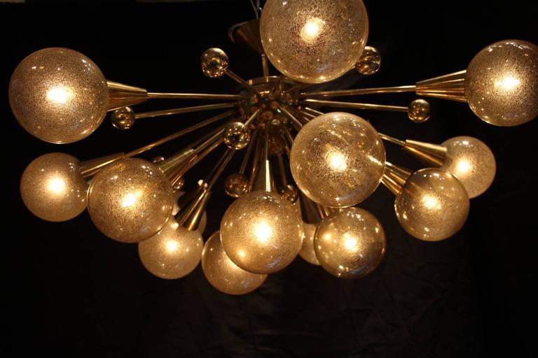 Very Chic Half Sputnik Light At 1stdibs
