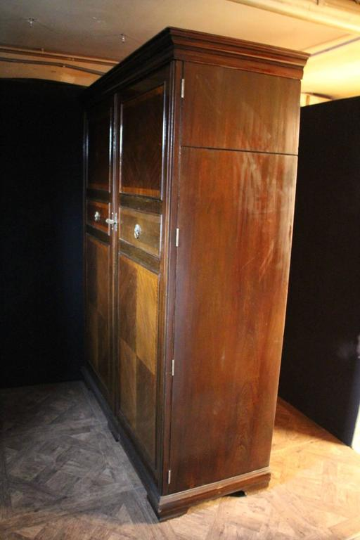 1930s Very Large All Fitted Closet Extra Large Mahogany