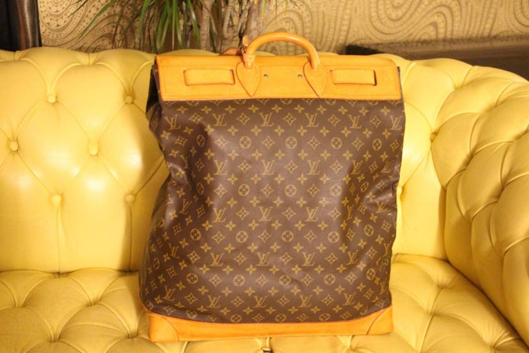 Louis Vuitton Monogram Steamer Bag 45 In Excellent Condition For Sale In  Saint-Ouen f66b8cb2a1b88