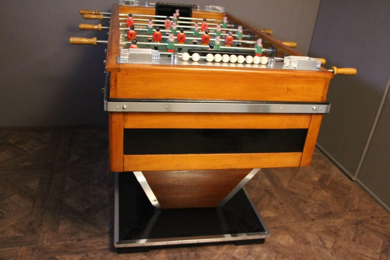 Aluminum 1950s Foosball Table For Sale