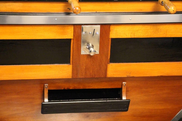 French 1950s Foosball Table For Sale