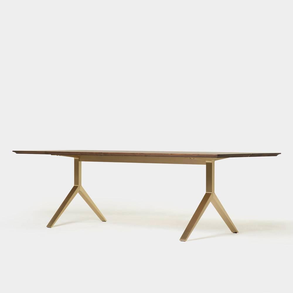Overton Table For Sale at 1stdibs : DLEMHOvertonTableBrushedBrass1z from www.1stdibs.com size 1000 x 1000 jpeg 14kB
