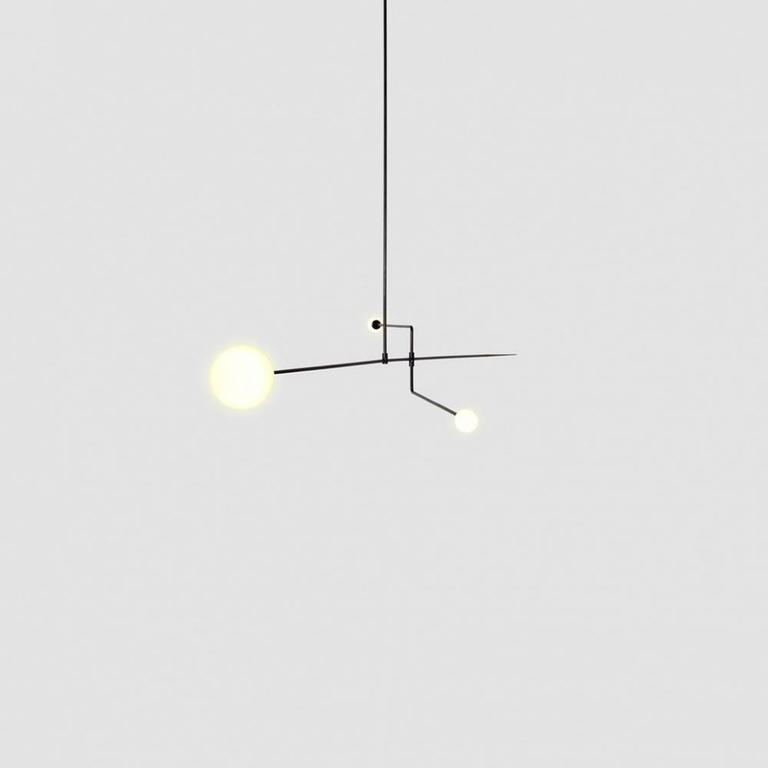 Michael anastassiades mobile chandelier 3 for sale at 1stdibs the mobile chandeliers first designed in 2008 consist of pieces individually tailored with aloadofball Image collections
