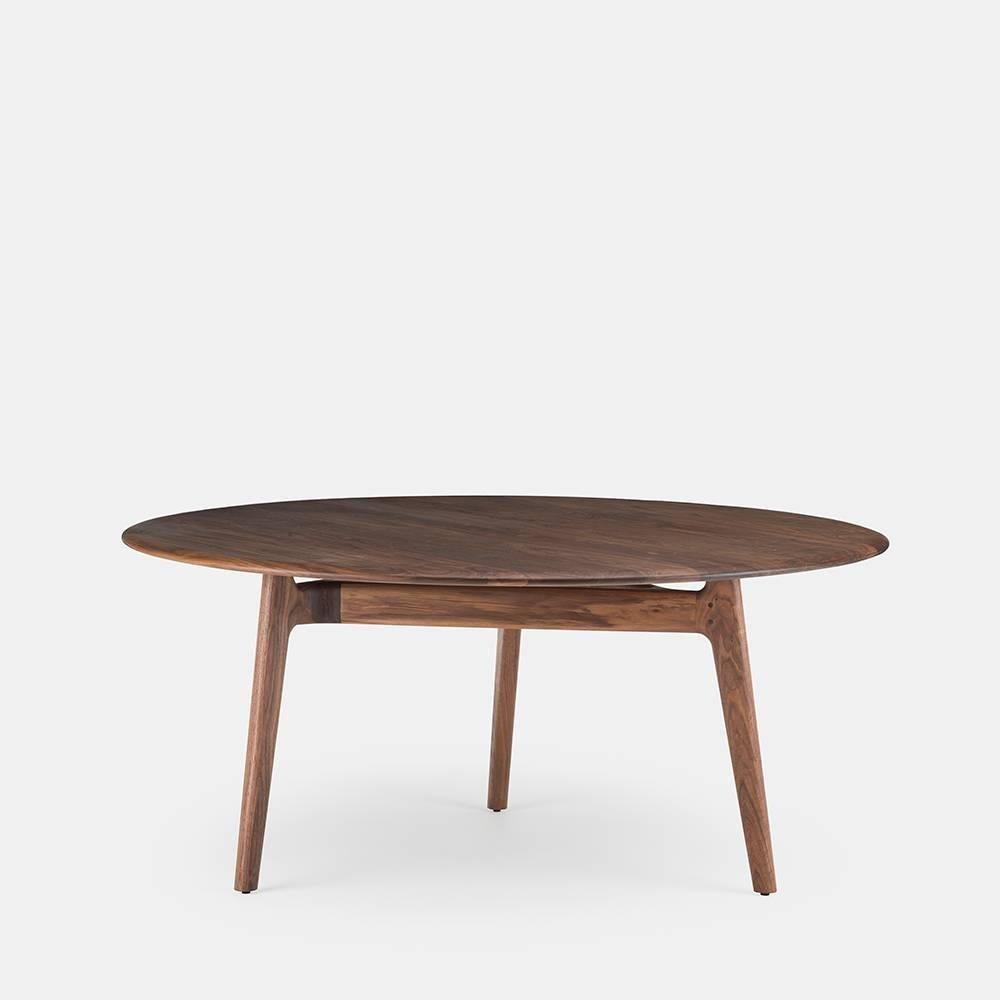 Neri U0026 Hu For De La Espada Round Solo Dining Table, Walnut 2