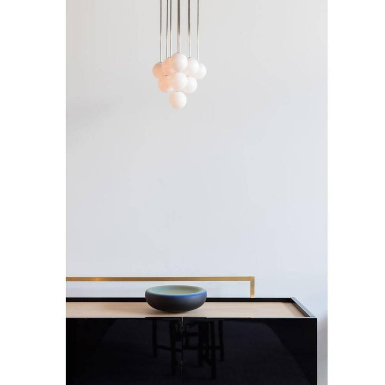 British Michael Anastassiades Polished Nickel Happy Together Pendant Chandelier Light For Sale