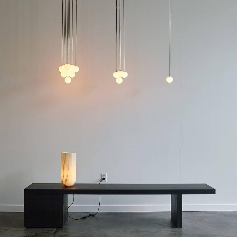 Michael Anastassiades Polished Nickel Happy Together Pendant Chandelier Light In New Condition For Sale In New York, NY