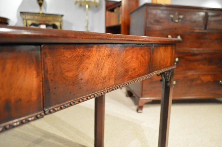 Fine Cuban Mahogany George II Period Antique Card Table by Phillip