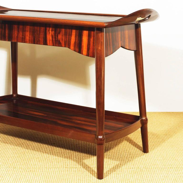 art nouveau dessert table for sale at 1stdibs. Black Bedroom Furniture Sets. Home Design Ideas