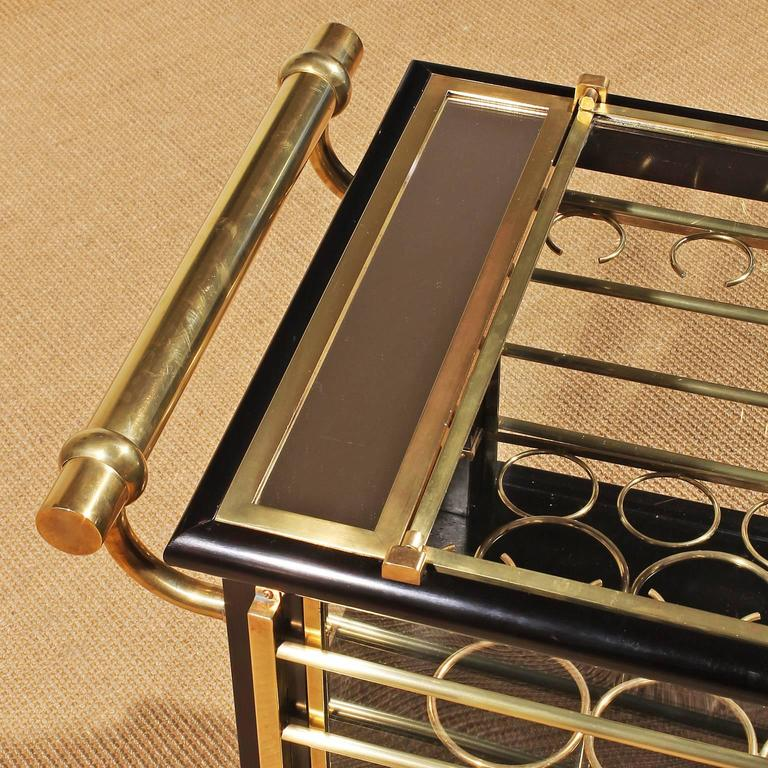French Art Deco Dry Bar Cart For Sale At 1stdibs