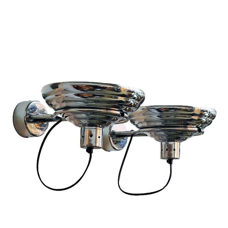 Pair of Industrial Wall Lights 2
