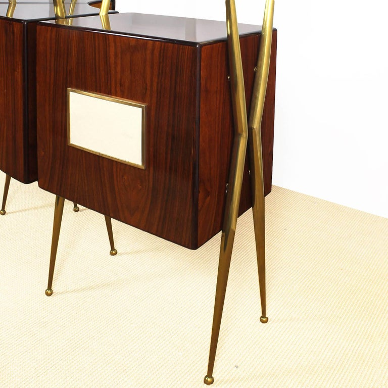 1950s Dry Bar Cabinet Counter And Benches Set In The