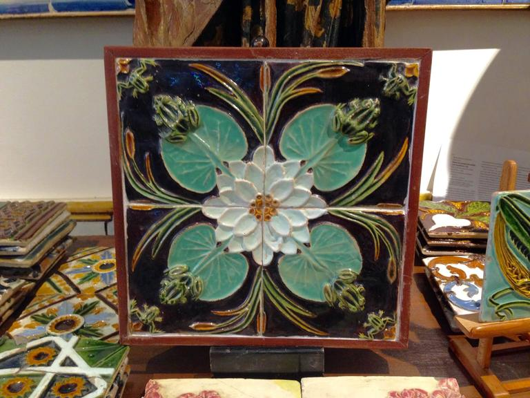19th 20th Century Portuguese Art Nouveau Azulejos For Sale At 1stdibs