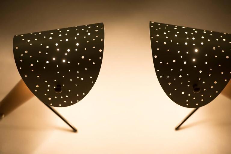 German Ernst LGL Pair of Table Lamps for Egon Hillebrend For Sale