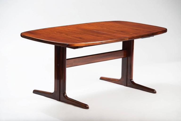 Rosewood Extendible Dining Table Measures W 165 265 Cm D 100