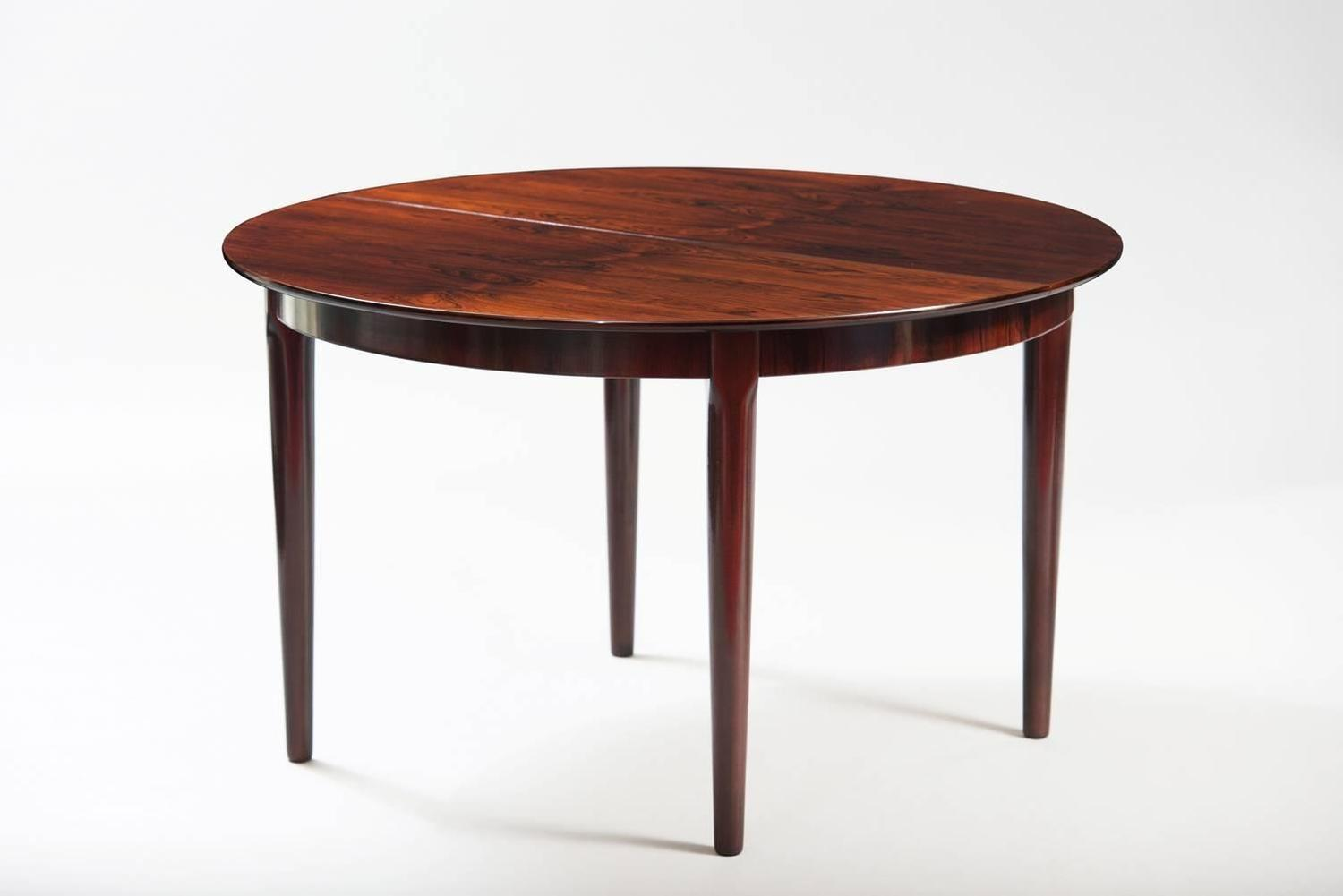 Danish Long Dining Table For Sale at 1stdibs