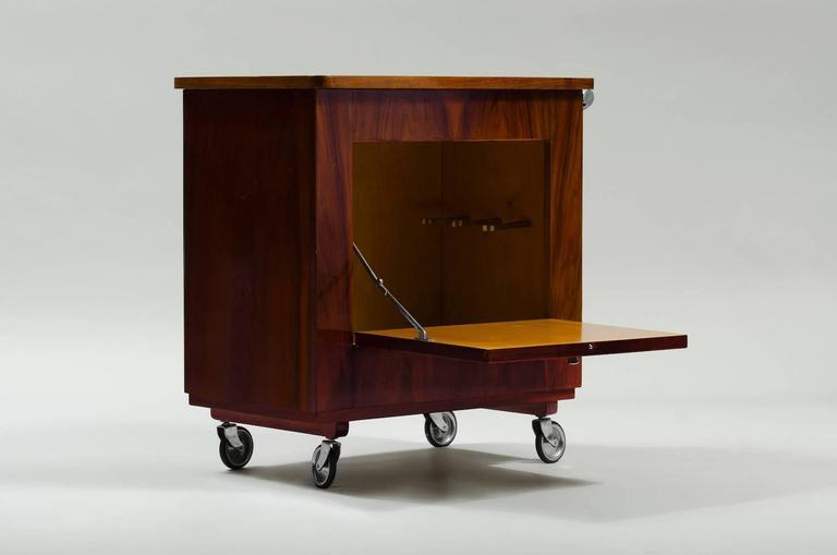 Art Deco Bar Cart For Sale At 1stdibs