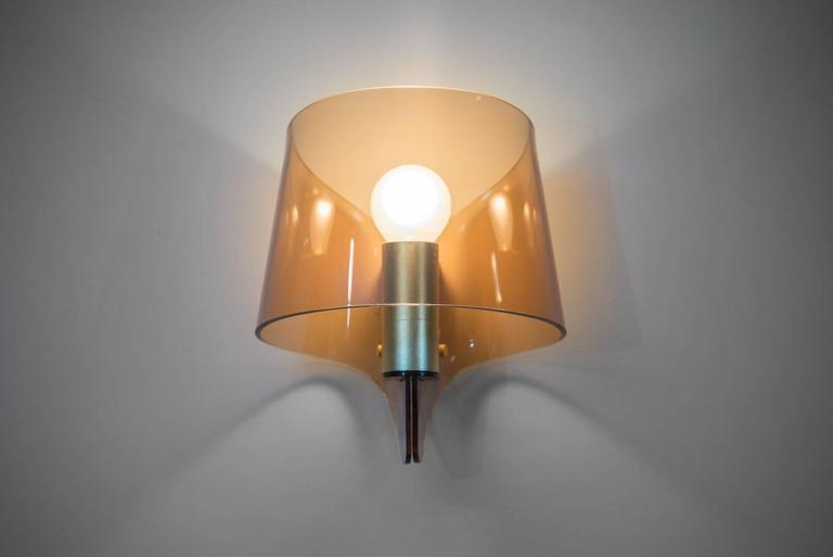 Mid-Century Modern French Pair of Wall Sconces For Sale