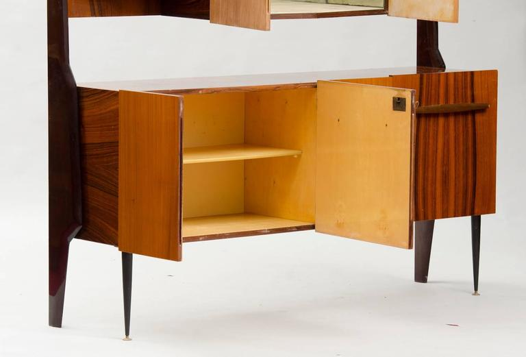 Mid-20th Century Italian Cupboard with Dry Bar For Sale
