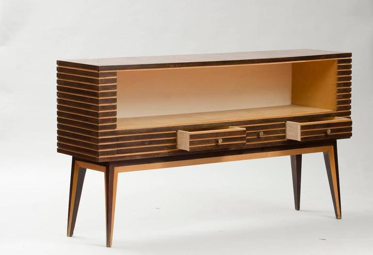 italian mid century modern vitrine for sale at 1stdibs. Black Bedroom Furniture Sets. Home Design Ideas