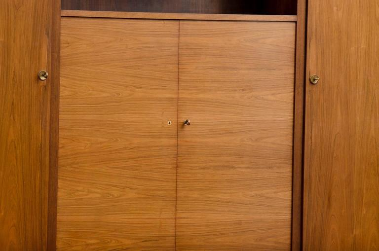 Mid-20th Century French Art Deco Cabinet or Bookcase For Sale