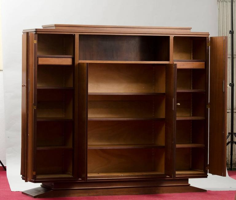 Art Deco rosewood cabinet or bookcase. Price fully restored: 5625€ The price shown is in the original condition. We have our own workshop and we can restore these items, including upholstery and all the piece might need.