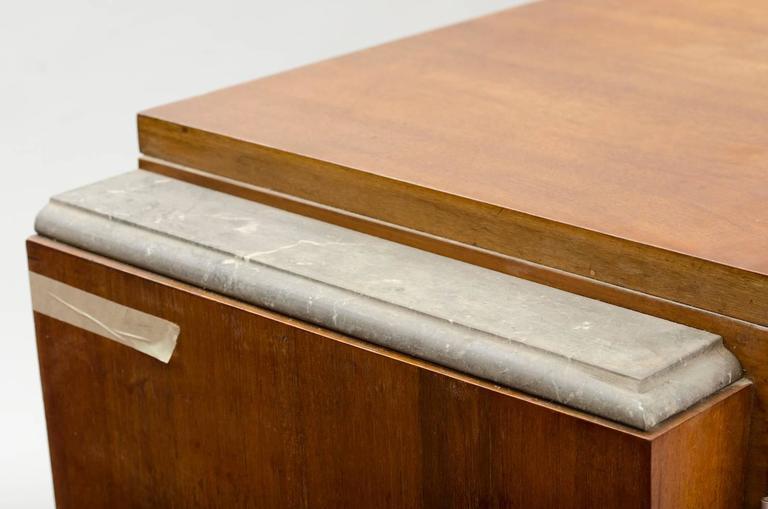 Brass Art Deco Sideboard For Sale