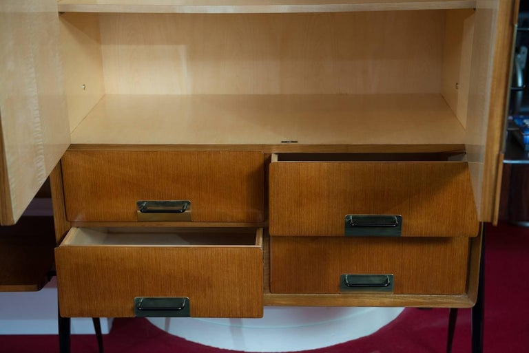 Metal Silvio Cavatorta Wall Unit For Sale