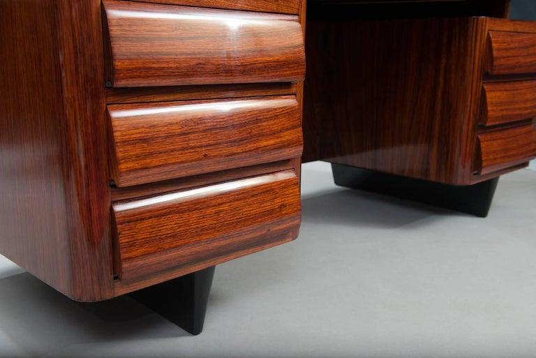 Vittorio Dassi Desk In Excellent Condition For Sale In Porto, PT