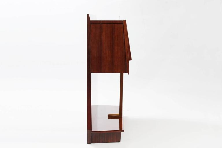 Mid-Century Modern Midcentury Vittorio Dassi Dry Bar Cabinet For Sale