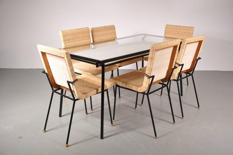Jl Metz Dining Room Set By Carlo Pagani For And Co Netherlands