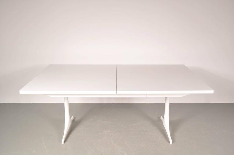 Extendable Dining Table by George Nelson for Herman Miller, USA, circa 1960 In Good Condition For Sale In Amsterdam, NL