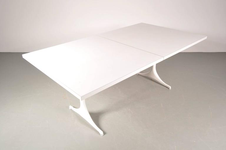 Extendable Dining Table by George Nelson for Herman Miller, USA, circa 1960 For Sale 1