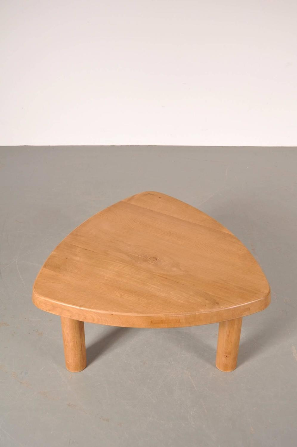 coffee table by charlotte perriand france circa 1950 for sale at 1stdibs. Black Bedroom Furniture Sets. Home Design Ideas