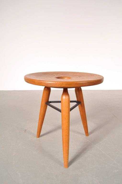 Unique French Tripod Stool Circa 1950 At 1stdibs