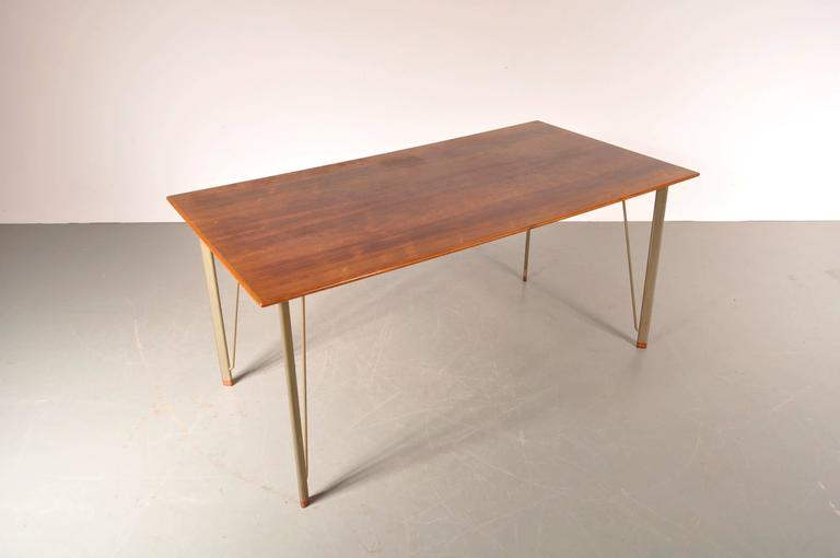 Dining Table By Arne Jacobsen For Fritz Hansen Denmark Circa 1955