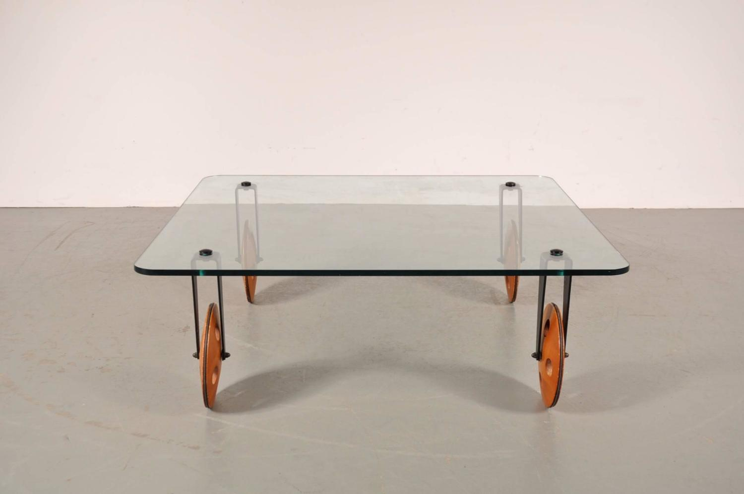 Coffee Table In The Style Of Gae Aulenti For Fontana Arte Italy Circa 1960s For Sale At 1stdibs