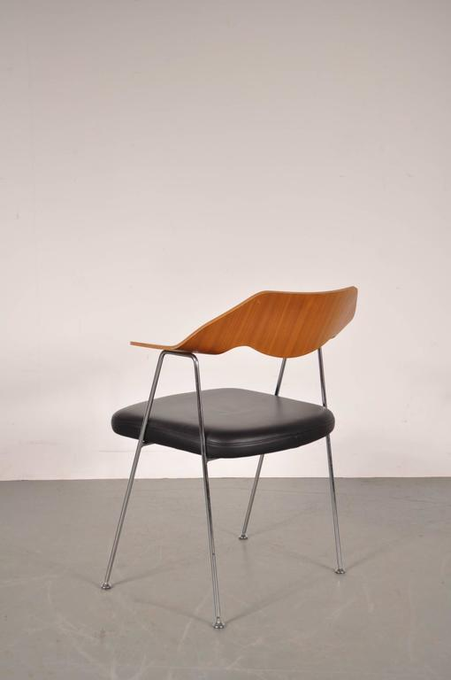 Desk Side Chair By Robin Day For Hille Uk Circa 1950