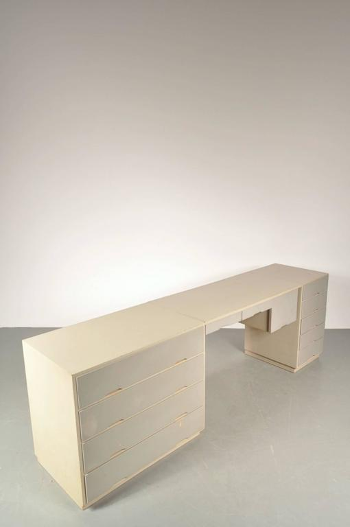 Swedish Desk In The Style Of Alvar Aalto Circa 1950s At