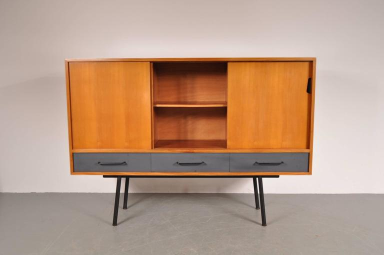 "Highboard Model ""102"" by Janine Abraham for Meubles TV, France, 1952 2"