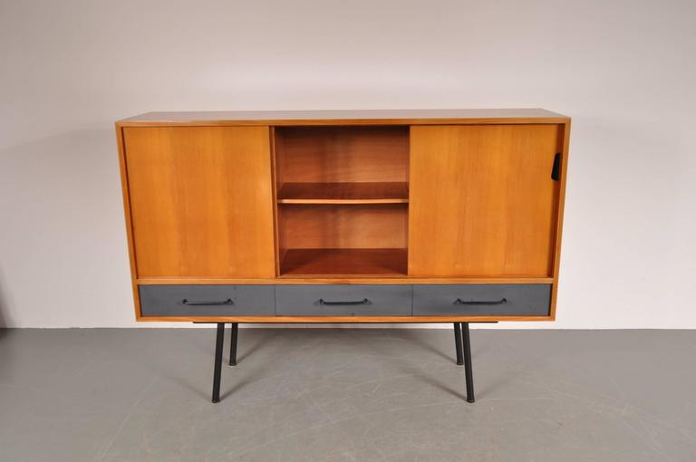 "Highboard Model ""102"" by Janine Abraham for Meubles TV, France, 1952 5"